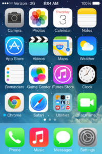 iOS 7 operating system available for Apple phone users