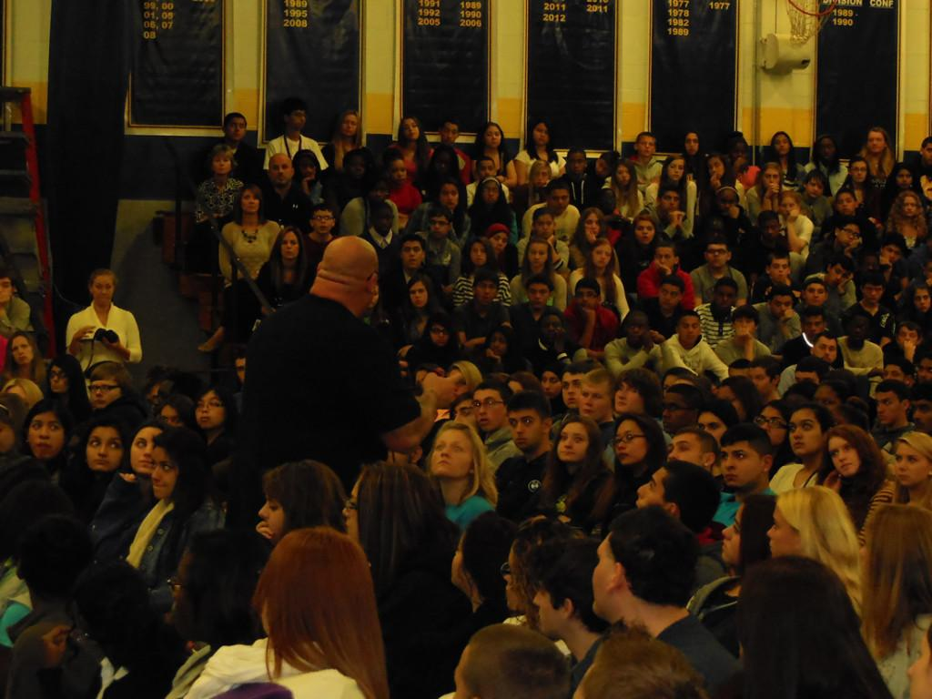 ... the students and teachers of Colonia. (Photo Credit: Miss Simkovich