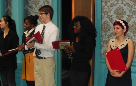 Murray Competes at Poetry Out Loud