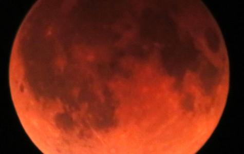 Blood-Red Moon Raises Curiosity Amongst Star-Gazers
