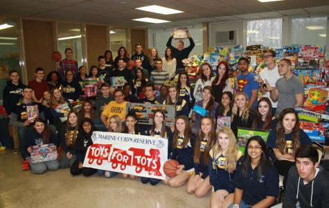 Colonia collects toys for the less fortunate