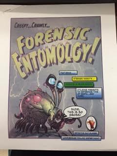 Forensic Entomoligist comes to talk to students