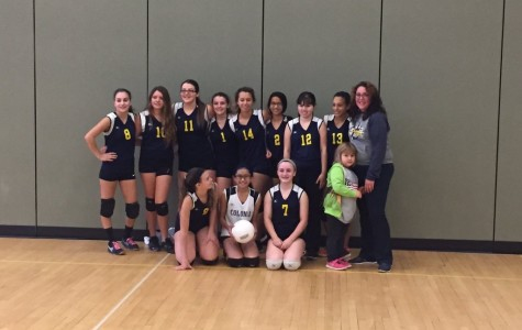 Colonia's first freshman volleyball team wins county title