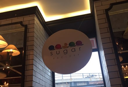 The Sugar Factory delights customers with unique drinks