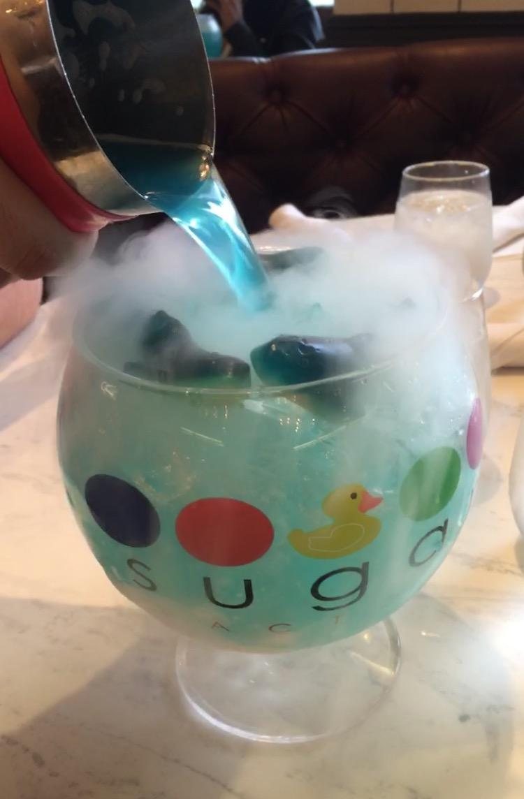 Sugar Factory American Brasserie Grand: The Sugar Factory Delights Customers With Unique Drinks