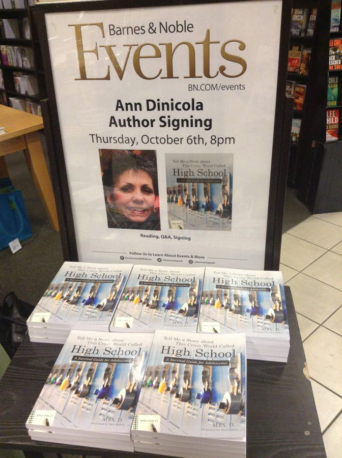 Dinicola's book signing at Barnes and Noble