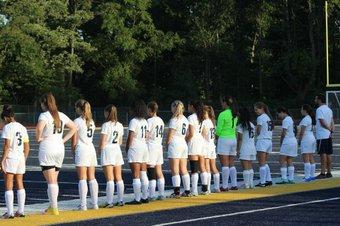 The Girls Soccer Team Fall to Woodbridge 2-1
