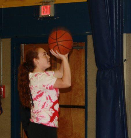 Shooting a basketball the correct way