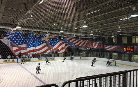 Fighting to the finish Colonia hockey team verse St. Joseph's