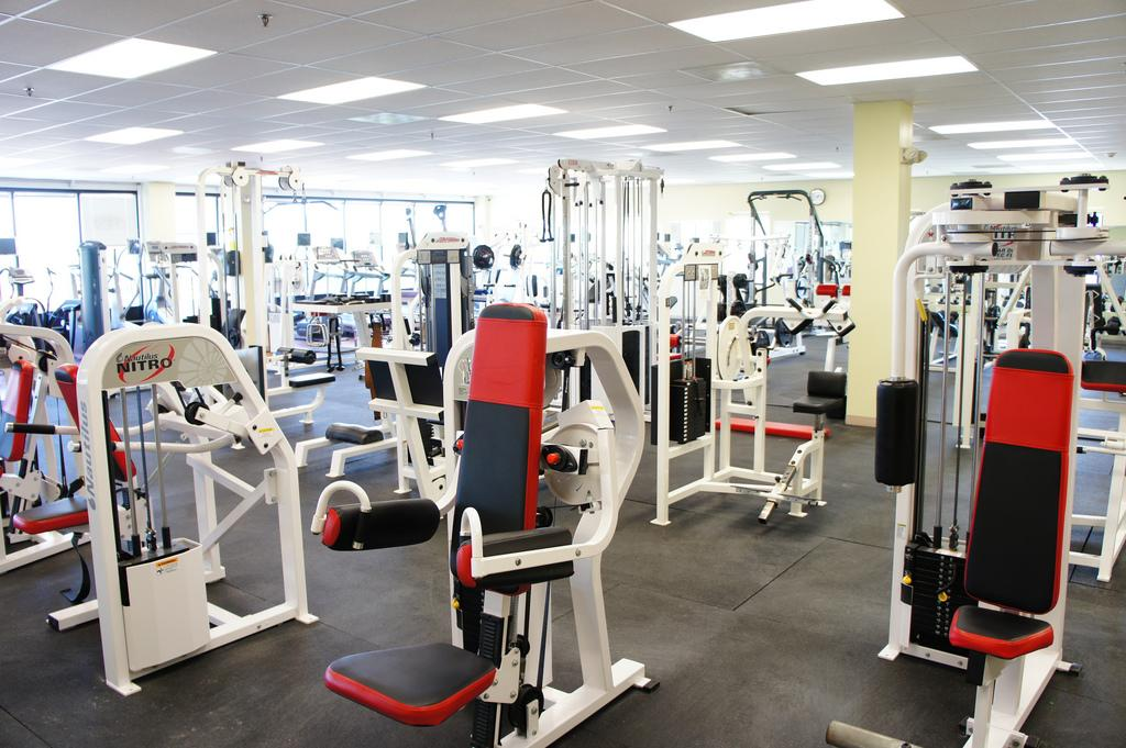 Grind Never Stops. Crunch has many different machines to use