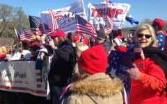 Americans gather in support of the President at the March-4-Trump