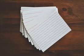 Studies show that spending hours rereading notes to prepare for a test is ineffective, but flash cards, however, are excellent at helping students study.