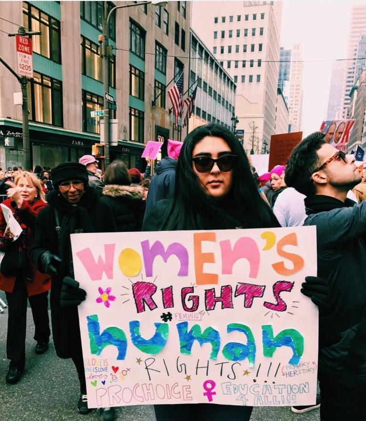 In+solidarity%2C+women+took+to+the+streets+of+New+York+to+illustrate+a+need+for+gender+equality+in+the+USA+and+around+the+world.