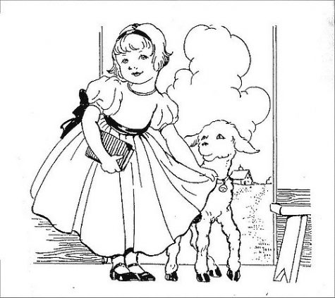 Mary had a little lamb is published