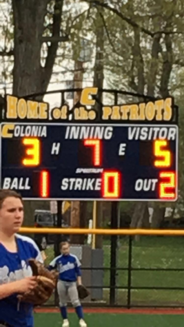 A Close Game with Sayreville (5) at Colonia (3) – Softball