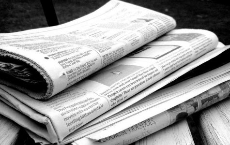 First daily newspaper published
