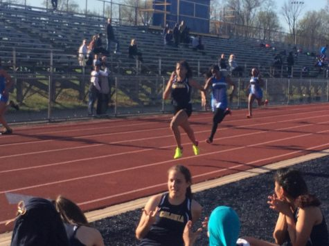 Colonia Versus North Brunswick During Competitive Track Meet