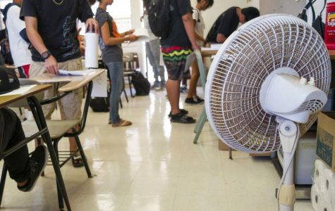 Air cooling is best for schools