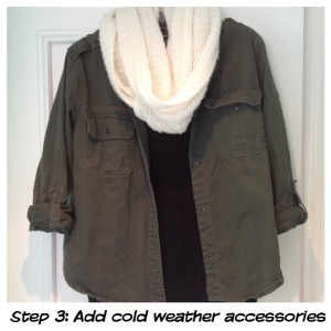 How to complete the layered look