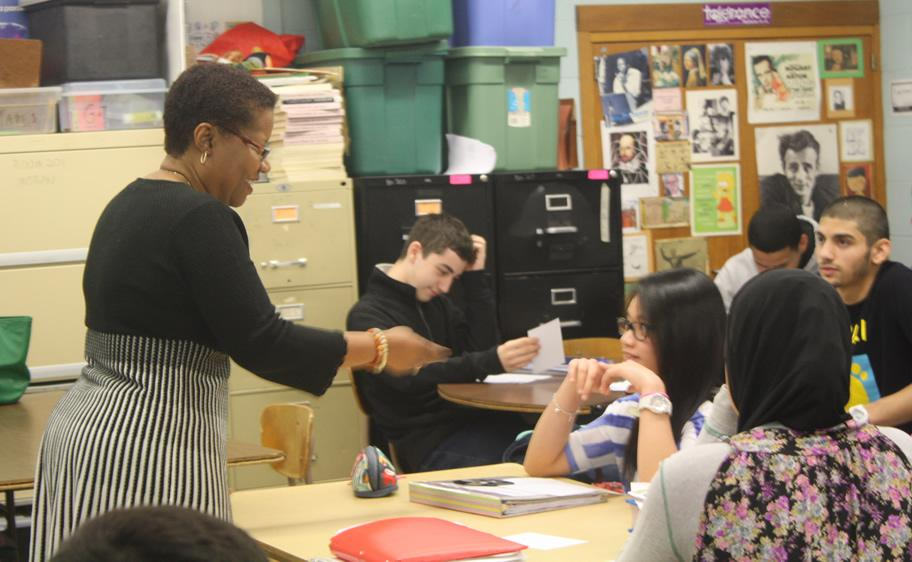 Dodge Poet, Gretna Wilkinson, comes to Colonia High
