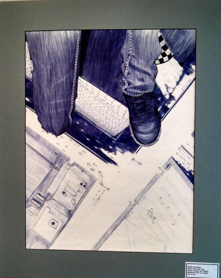 Edith [Edi] Gonzalez, Junior Visual Art Major