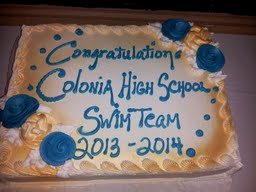 CHS swim team celebrates at banquet