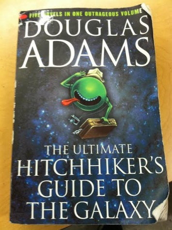 Brace yourself for a sci-fi adventure in The Hitchhiker's Guide to the Galaxy