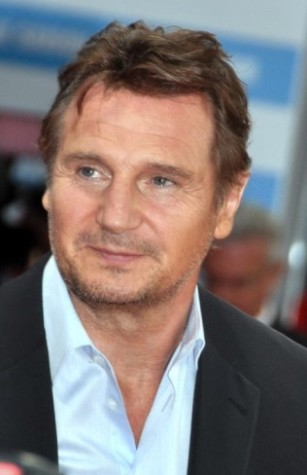 The star of Non-Stop, Liam Neeson.