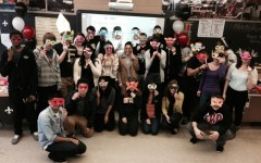 Miss Amorin's Class held a Shakespeare Party.