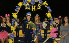 Pero and Joe are crowned homecoming king and queen of 2015