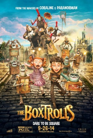 The Boxtrolls which aired on September 26th, released it's poster.