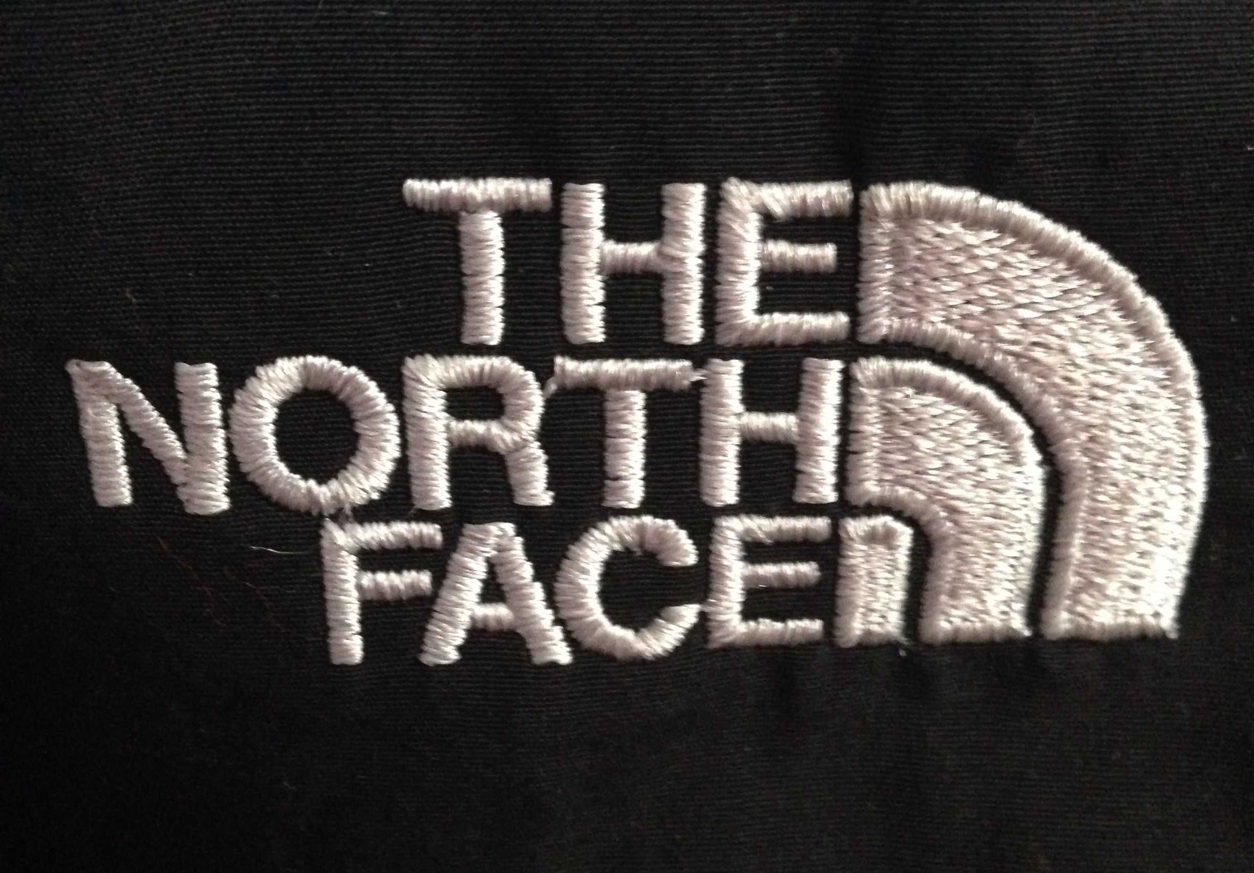 The North Face's half dome logo  can be seen on many high school students and teacher's coats.