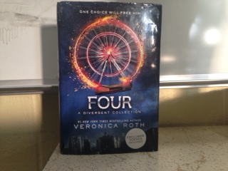 Last novel of the Divergent series Four, isn't as exciting as expected
