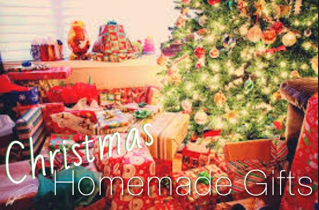 Homemade gift ideas for Christmas and the holidays.