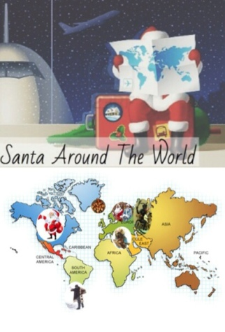 Santas all around the world