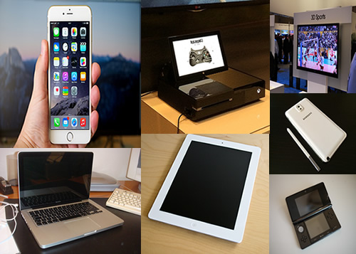 2014 brought with it a lot of new tech gadgets and improvements to existing technology.