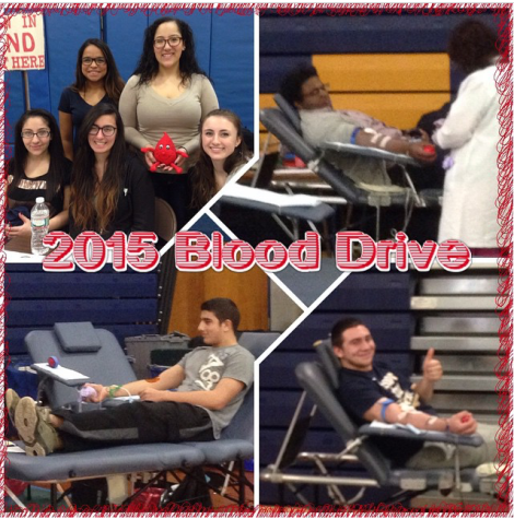 Colonia High students take part in blood drive