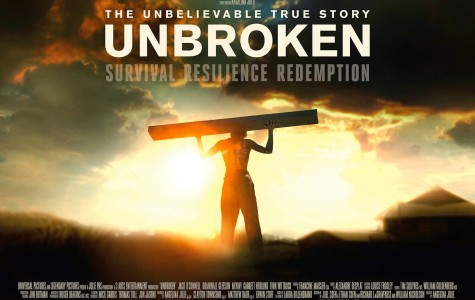 Directed by Angelina Jolie, Unbroken tells the tale of Olympic Runner and World War ll veteran, Louie Zamperini