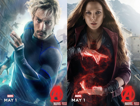 Marvel introduces Quicksilver and Scarlet Witch in Avengers: Age of Ultron