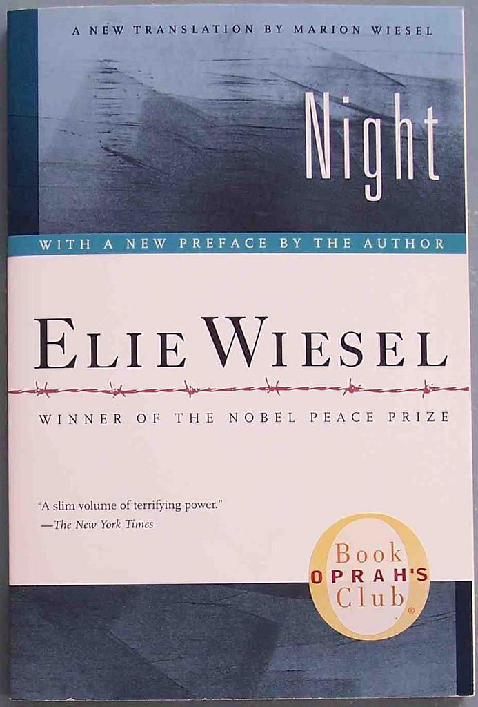 the human history and the desire for the agony in the novel night by elie wiesel