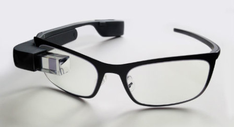 Google Glass compared to the eye wear seen in Back to the Future.