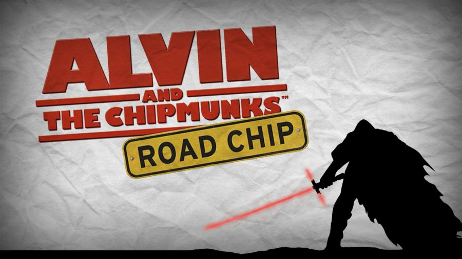 It is not even a fair competition; Alvin and the Chipmunks takes to the silver screen at the same time as Star Wars.