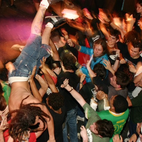 With pushing and moshing going on at certain concerts, it become a dangerous place for children.