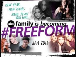 ABC Family decides to change network name to Freeform.