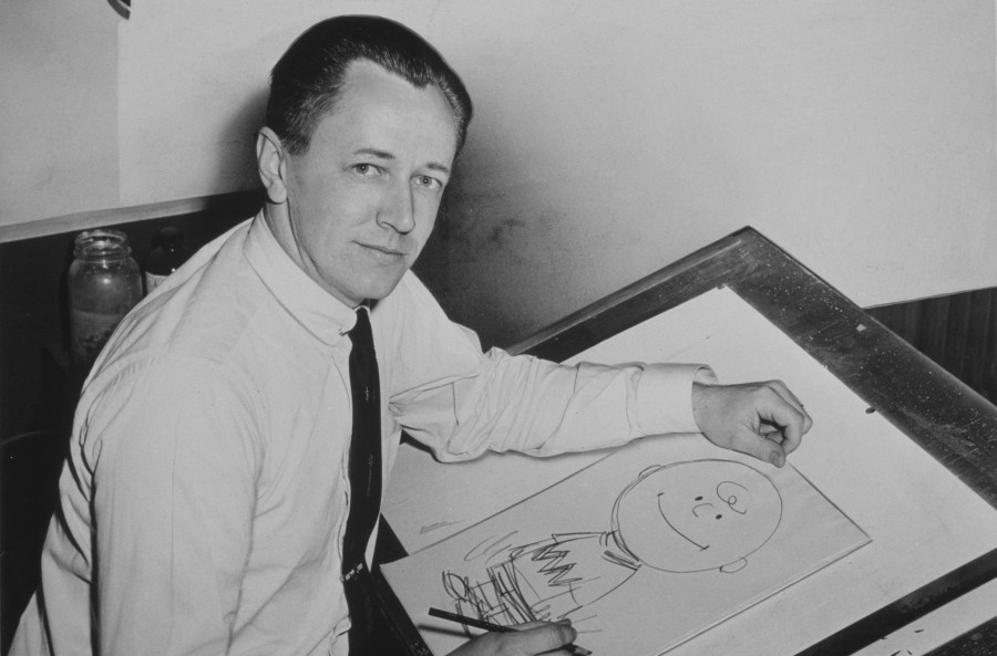 Charles+Schulz+wrote+17%2C897+Peanuts+comics+in+his+lifetime.