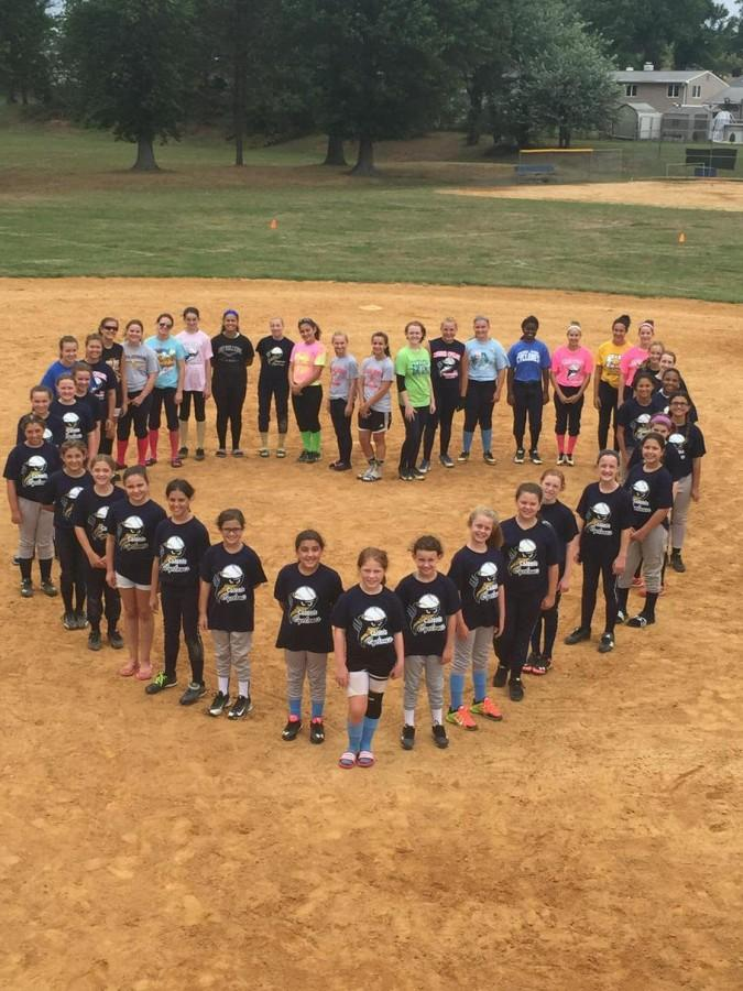 With love an admiration, Colonia's Girls' Softball League pays tribute to Keith DiGiuseppe who passed away at the age of 50.