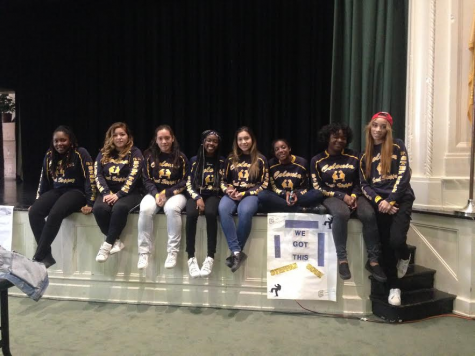 Step Team takes third place in NJSSA State Finals