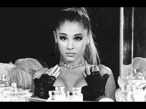 Seductive photo taken for Grande's new album Dangerous Woman