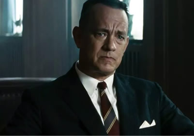 James Donovan (Tom Hanks) in the movie Bridge of Spies.