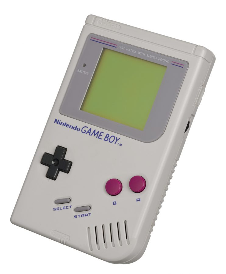 The Game Boy is Nintendo's second hand-help video game console